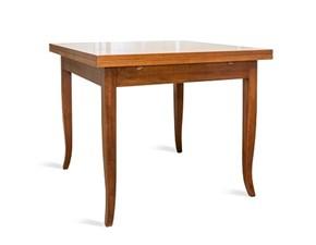 Tavolo in legno quadrato Asolo Artigianale a prezzo scontato