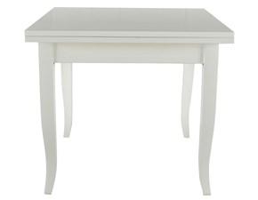 Tavolo in legno quadrato Mobilike ml747 Artigianale a prezzo scontato