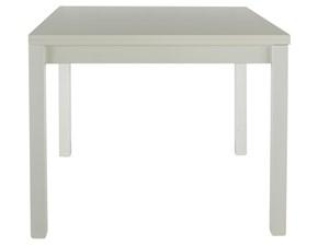 Tavolo in legno quadrato Mobilike ml955 Artigianale in offerta outlet