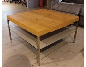 Tavolo in legno quadrato Nola Artigianale in offerta outlet