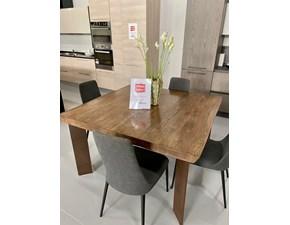 Tavolo in legno quadrato Rovere antik Devina nais a prezzo ribassato