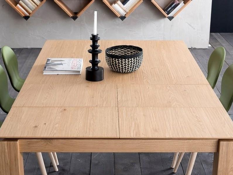 Tavolo In Legno Quadrato Allungabile.Tavolo In Legno Quadrato Santiago Alta Corte A Prezzo Scontato