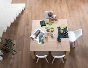 Tavolo in legno quadrato Santiago Alta corte a prezzo scontato