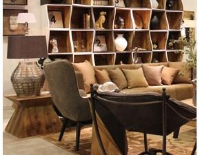Tavolo in legno quadrato Tavolino Dialma brown in Offerta Outlet