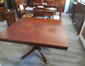 Tavolo in legno quadrato Tavolo trasformabile Artigianale in Offerta Outlet