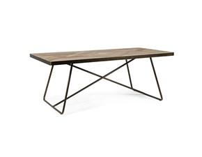 Tavolo in legno rettangolare 1030 Mobilificio bellutti a prezzo ribassato