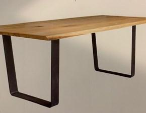 Tavolo in legno rettangolare 2840 Artigianale in offerta outlet