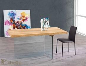 Tavolo in legno rettangolare Albert di Sabatini a prezzo scontato