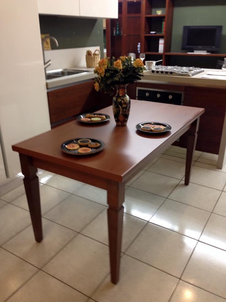 Tavolo in legno rettangolare allungabile al 67 di sconto for Tavolo rettangolare allungabile