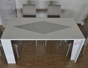 Tavolo in legno rettangolare Art. 605 Mirandola in Offerta Outlet