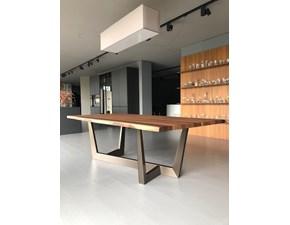 Tavolo in legno rettangolare Art Bonaldo in offerta outlet