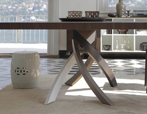 Tavolo in legno rettangolare Artistico  fisso Bontempi casa a prezzo scontato