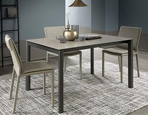 Tavolo in legno rettangolare Basic Altacom in Offerta Outlet