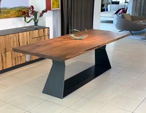 Tavolo in legno rettangolare Bedrock plank c Riva 1920 a prezzo ribassato