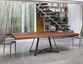 Tavolo in legno rettangolare Big bang Ingenia in Offerta Outlet