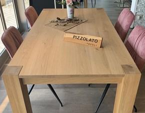 Tavolo in legno rettangolare Bios 180 Sedit in offerta outlet