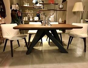 Tavolo in legno rettangolare Bonaldo big table Bonaldo in offerta outlet
