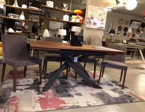 Tavolo in legno rettangolare Bontempi artistico allungabile Bontempi casa a prezzo scontato