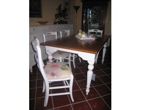 Tavolo in legno rettangolare Brocantage di Faber mobili a prezzo ribassato