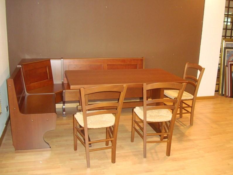 Tavolo in legno rettangolare canova di gm cucine in for Cucine di marca in offerta