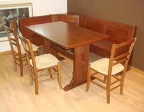 Tavolo in legno rettangolare Canova di Gm cucine in Offerta Outlet