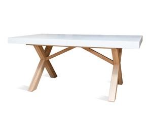 Tavolo in legno rettangolare Capretta Artigianale a prezzo ribassato