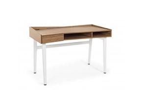 Tavolo in legno rettangolare Carol legno mdf 1cassetto Bizzotto in offerta outlet