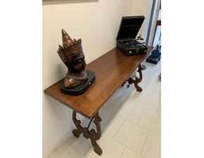 Tavolo in legno rettangolare Castellan Artigianale in offerta outlet