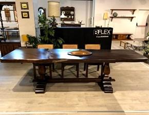 Tavolo in legno rettangolare Cedro di Marchetti scontato del 35%
