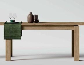 Tavolo in legno rettangolare City 130 Imab group in offerta outlet