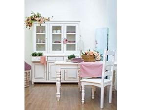Tavolo in legno rettangolare Colette  Bizzotto in offerta outlet
