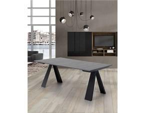 Tavolo in legno rettangolare Consolle allungabile dakota Di lazzaro in offerta outlet