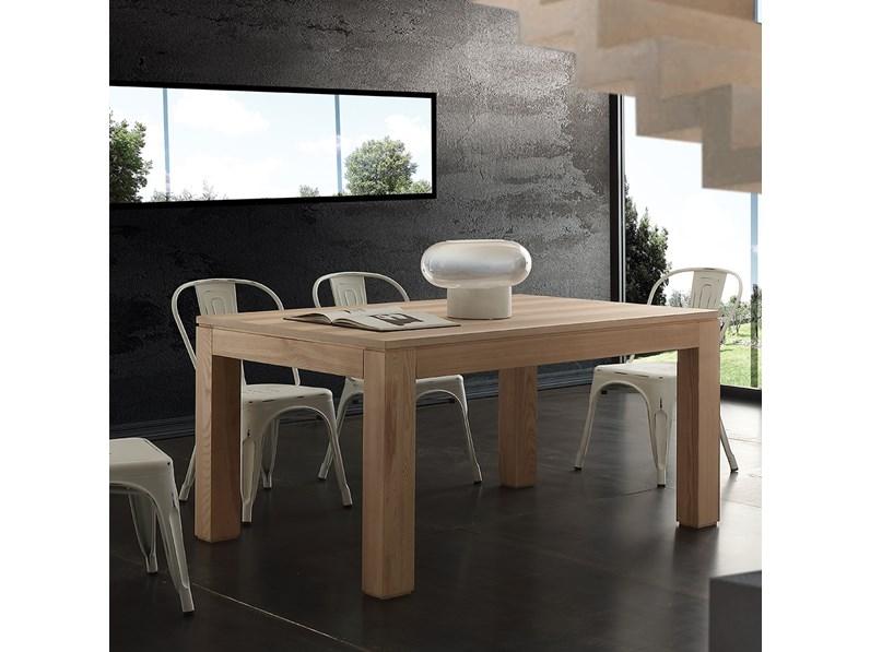 Tavolo in legno rettangolare contemporaneo la seggiola in - Tavolo contemporaneo ...
