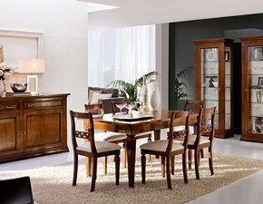 Tavolo in legno rettangolare Contessa Devina nais a prezzo ribassato