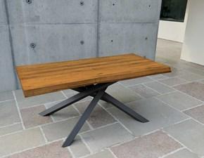 Tavolo in legno rettangolare * cross Artigianale a prezzo scontato