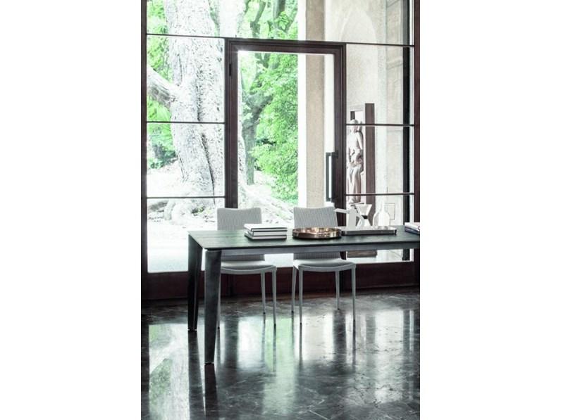 Tavolo in legno rettangolare cruz xxl bontempi casa