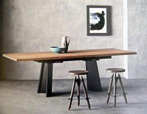 Tavolo in legno rettangolare D1 Artigianale a prezzo scontato