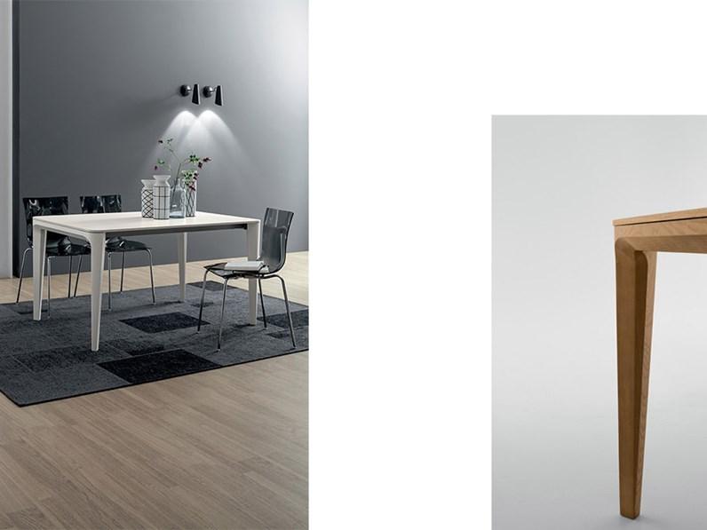 Tavolo in legno rettangolare dafne tonin casa a prezzo for Tavoli di marca