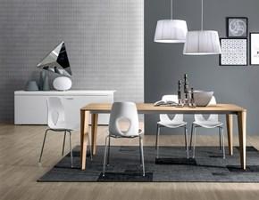 Tavolo in legno rettangolare Dafne Tonin casa a prezzo ribassato