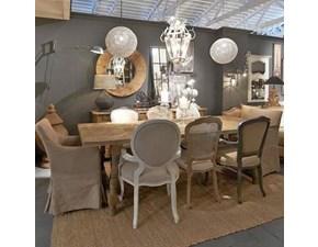 Tavolo in legno rettangolare Db002357 Dialma brown a prezzo ribassato