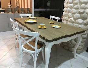 Tavolo in legno rettangolare Db004882 dialma di Dialma brown in Offerta Outlet