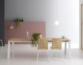 Tavolo in legno rettangolare Delta Pointhouse in offerta outlet