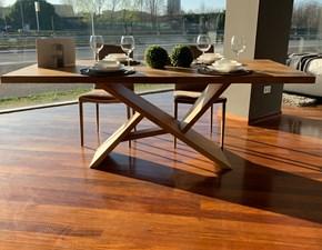 Tavolo in legno rettangolare Edo Artigianale a prezzo ribassato