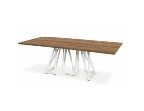 Tavolo in legno rettangolare Enigma Sedit a prezzo scontato