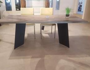 Tavolo in legno rettangolare Exentia Natisa a prezzo ribassato