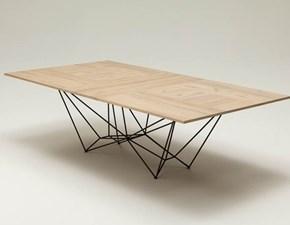 Tavolo in legno rettangolare Fil8 Ozzio a prezzo ribassato