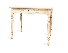 Tavolo in legno rettangolare Firenze Artigianale in offerta outlet