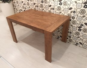 Tavolo in legno rettangolare Flat Fgf a prezzo scontato