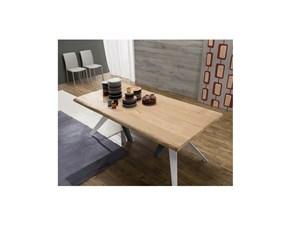 Tavolo in legno rettangolare Fly legno Zamagna a prezzo ribassato