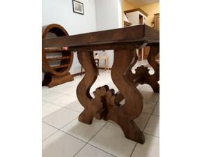 Tavolo in legno rettangolare Fratino Artigianale in Offerta Outlet
